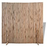 vidaXL Panel de Valla de Bambú Marrón 180x170 cm Separador de Espacios Jardín