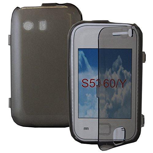 Schutzhülle Silikon Gel Brieftasche Buch Schutzhülle für Samsung Galaxy Y Neo GT-S5360s5369i
