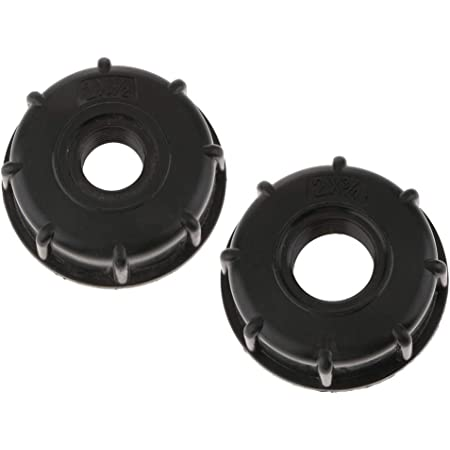 """IBC Water Tote Tank Adapter 60mm Coarse Thread Outlet 1/"""" 1//2/"""" 3//4/"""""""