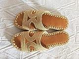 Sandalias de rafia natural, mulas de rafia, zapatillas de rafia, sandalias para mujer, cómodas zapatillas de rafia hechas a mano, zapatillas de Navidad
