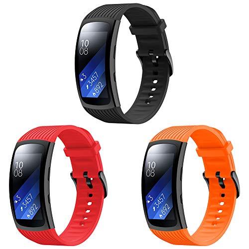 YSSNH Compatible con Samsung Gear Fit 2 Pro Correa de Silicona Ligero Reemplazo de Gear Fit 2 Pulsera Deportiva para Gear Fit2 Pro SM-R365 / Gear Fit2 SM-R360 Sports Fitness