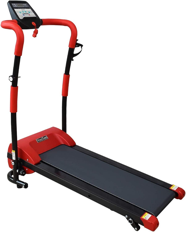 YouTen(ユーテン) 電動ルームランナー 8km/hモデル 6色 ウォーキング ランニングマシン トレーニングマシン ウォーキング フィットネス ダイエット 家庭用