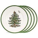 No Plato Europeo del árbol de Navidad Plato de Cena Plato de Postre de Porcelana Ensalada de Filete Snack Platos de Pastel Vajilla