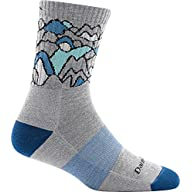 Side Profile View for Women's Darn Tough Coolmax Zuni Micro Crew Cushion Sock