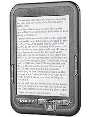 電子書籍リーダー Acouto 6インチ 電子ペーパー 電子インク 電子リーダー 電子ブック 読みやすい 低消費電力 電子インクスクリーン(グレー16g)