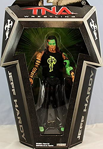 grandes precios de descuento GLOW PAINT JEFF HARDY - RINGSIDE COLLECTIBLES EXCLUSIVE JAKKS PACIFIC PACIFIC PACIFIC TNA TOY WRESTLING ACTION FIGURE by Wrestling  más orden