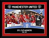 GB Eye LTD, Manchester United, EFL Cup Winners 16/17, Fotografía enmarcada 15 x 20 cm