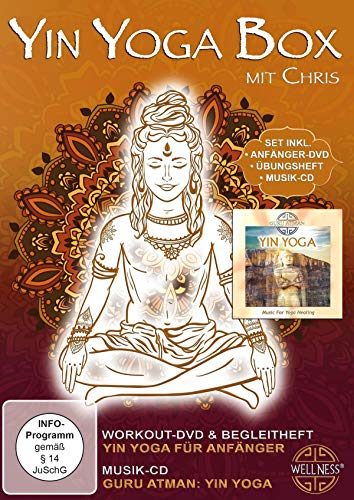 Yin Yoga Box - Set inklusive Anfanger-DVD, Ubungsheft und Musik-CD [German]
