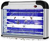 Cefrank Moskito-Killer Kraftvoll Elektrischer Insektenvernichter mit UV-Licht, Fliegenkiller Leistungsstarke 2800V Grid 20W Lampen für Wohn- und Gewerbezwecke