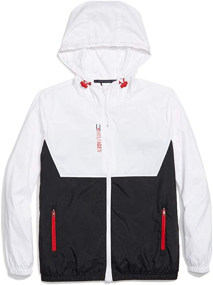 Tommy Hilfiger womens Adaptive Packable Jacket With Magnetic Zipper