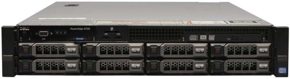 Dell PowerEdge R720 Nippon regular agency 8 x Max 77% OFF 3.5 Hot 2.5Ghz 2X E5-2640 Plug Core Six
