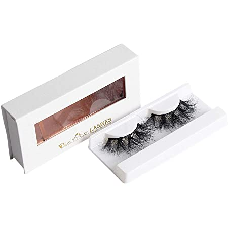BEAUTY CAT 3D False Mink Eyelashes Long Size No. 010 VENICE for Full Long Dramatic and Natural Look with Comfortable Wearing Strip Lashes by Handmade, Soft & Light Weight Fluffy Faux Eyelash with Luxury Packaging Box for Eye Makeup and Reusable from South Korea