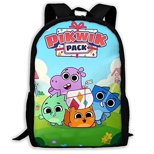 huatongxin Pikwik Pack Hermosa mochila para jóvenes, bandolera para la escuela