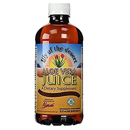 Lily of the Desert Aloe Vera Juice 32 oz (Packs of 2)