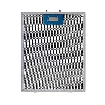 Cooker hood metal mesh grease filter for kitchen extractor fan vent 320x260 300x250 cooker hood aluminium filter metal range hood replacement parts