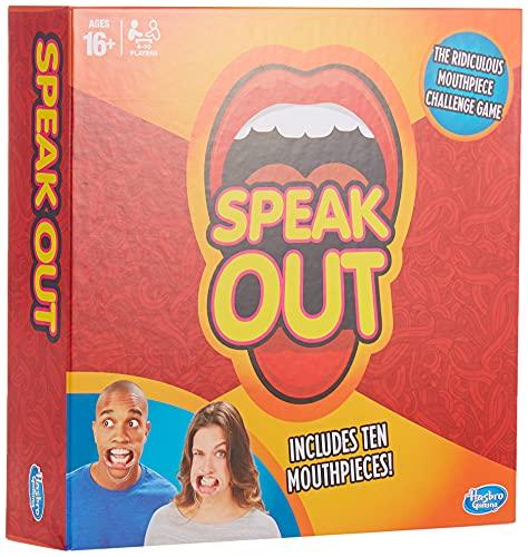 Hasbro, Gioco Speak Out , (Lingua inglese)