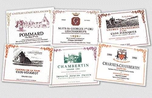 Sets de table Lot DE 6 PVC Collection 6 VINS DE Bourgogne Grands Crus