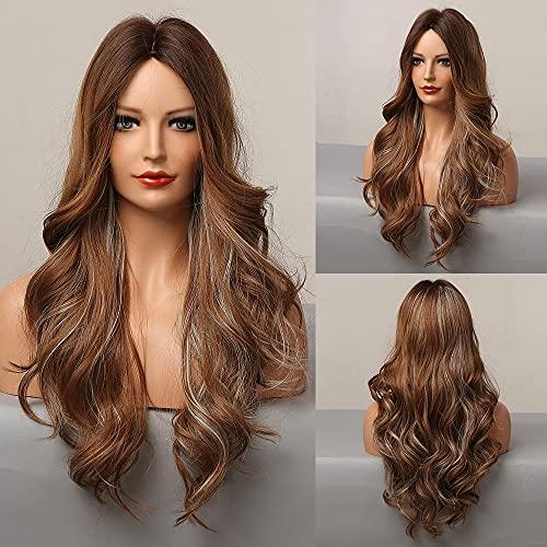 comprar pelucas colores largo en internet