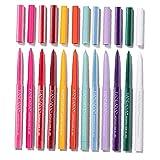Colorido De Los Delineadores Matte Eyeliner Matte Lápiz Largo Duración Impermeable Maquillaje Cosméticos 12pcs