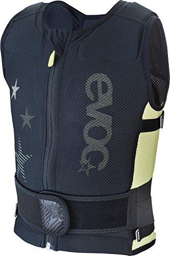 EVOC Kinder Protektorenjacke Protector Vest Protektorenweste, Black-Lime, JS