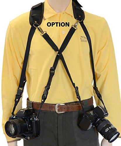 Trekking Safari Pro - Arnés para cámaras réflex, Negro: Amazon.es ...