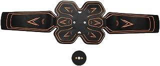 Uxsiya Cinturón de Fitness Abdominal de Baja frecuencia Cinturón de apriete de músculos Abdominales para Adelgazamiento Corporal para Fitness