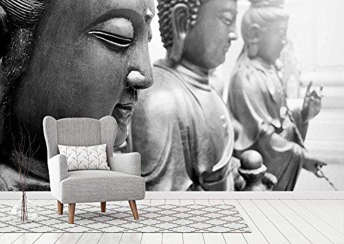 Oedim Fotobehang Vinyl Muursticker Boeddha | 100 x 70 cm | Woonkamers