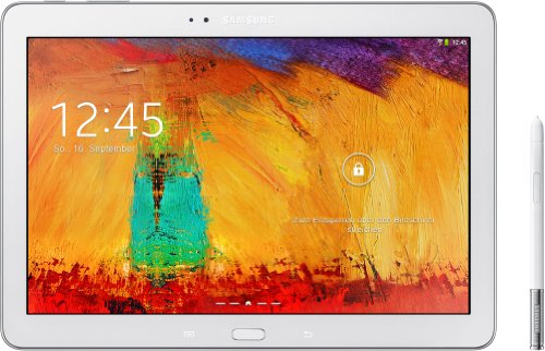 Samsung Galaxy Note 10.1 2014 Edition Tablet (25,7 cm (10,1 Zoll) Touchscreen, 3GB RAM, 8 Megapixel Kamera, 16 GB interner Speicher, WiFi, Android 4.3) weiß
