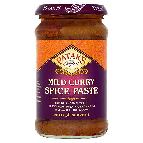 (3er BUNDLE)| Pataks - Mild Curry Paste -283g