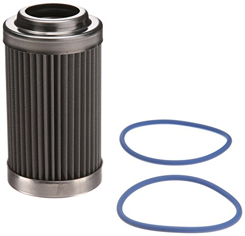 """Price comparison product image Fuelab 71802 3"""" 40 Micron Stainless Steel Filter Element with 2 Ring"""
