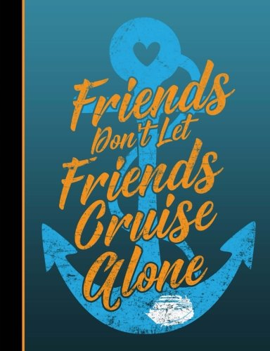 Friends And Cruising Composition Book: Journal for Teachers, Students, Offices -4x4 Quad Rule Graph Paper, 200 Lined Pages, (7.44 x 9.69)