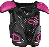 Fox Racing YTH Roost Guard R3, Black/Pink, One Size (24811-285-OS)