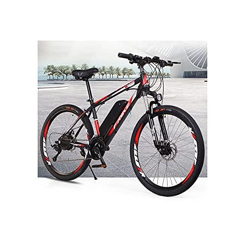 DDFGG Bicicleta Eléctrica Ebike Mountain Bike, Bicicleta Eléctrica de 26