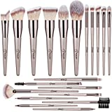 Pinselset Make Up Pinsel 20 Stück BESTOPE Professionelles Kosmetikpinsel Schminkpinsel Set Augenpinsel Lidschattenpinsel Make Up Pinsel Set Champagner Gold