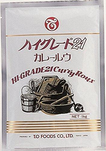 テーオー食品 ハイグレード21カレールウ1kg袋【入り数2】