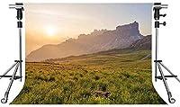 HD自然の風景の背景プレーリー山の写真の背景10X7ftをテーマにしたパーティーの写真ブースYouTubeの背景GYMT667