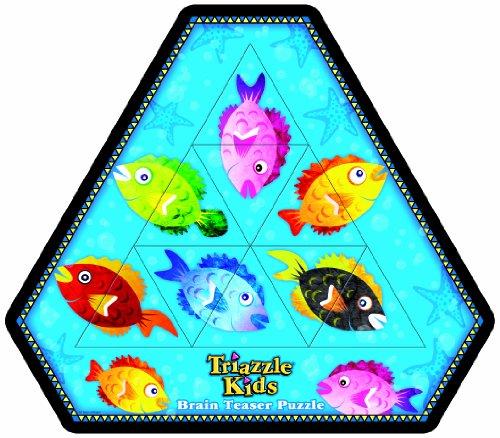 DAmert 71115 - Triazzle Kids Fische