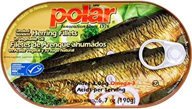 Smoked and Boneless Herring Fillets in Vegetable Oil