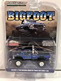 Greenlight 1/64 Bigfoot #1 The Original Monster Truck 1974 Ford F-250 Monster Truck (Blue) Chrome Edition 51281