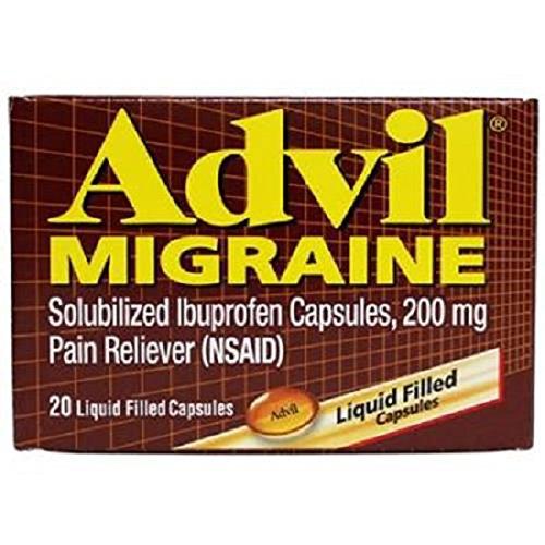 Advil Migraine, Gelcap, Count 1 - Headache/Pain Relief / Grab Varieties & Flavors