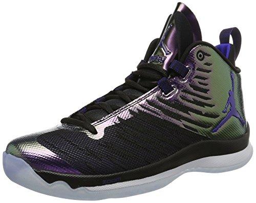 Nike Jordan Super.Fly 5, Scarpe da Basket Uomo, Multicolore (Black/Concord/White), 42 EU
