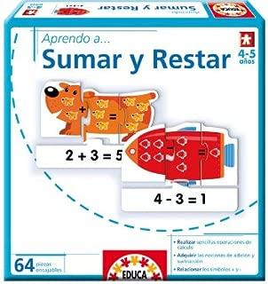 Educa Borrás - Aprendo A...Sumar Y Restar (14235)