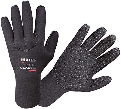 Mares FLEXA Classsic 3 mm Guantes Adultos Unisex Talla : XL Color : Negro