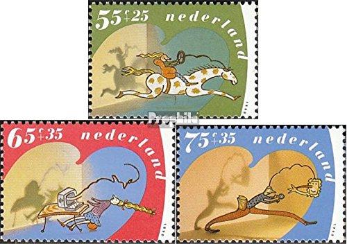 Pays-Bas mer.-no.: 1392A-1394A (complète.Edition.) 1990 voor het Enfant (Timbres pour Les collectionneurs)