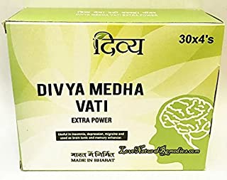 Patanjali Divya Medha VATIEXTRA Power (4 Strip) Relax The Brain by Ethnic Choice