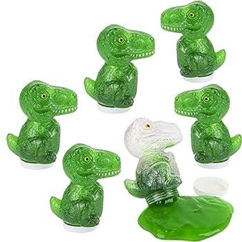 4. Kicko Dinosaur Slime Toy (6pcs)