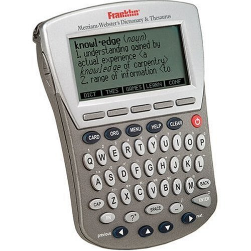 Franklin Merriam -Webster Dictionary & Thesaurus, downloadable Content