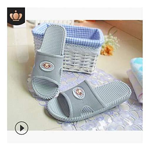 XWHKX Zapatillas de baño para Hombres de Interior Unisex Zapatillas de Verano para el hogar Sandalias de baño para Hombres Pareja Inicio