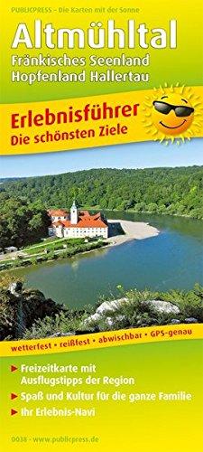 Altmühltal, Fränkisches Seenland - Hopfenland Hallertau: Erlebnisführer mit Informationen zu Freizeiteinrichtungen auf der Kartenrückseite, ... 1:120000 (Erlebnisführer / EF)