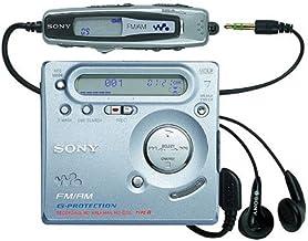 Color Plateado Sony MZ-R909 Reproductor MiniDisc Walkman funci/ón de grabaci/ón
